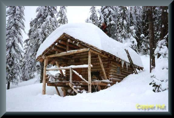 Copper Mountain hut