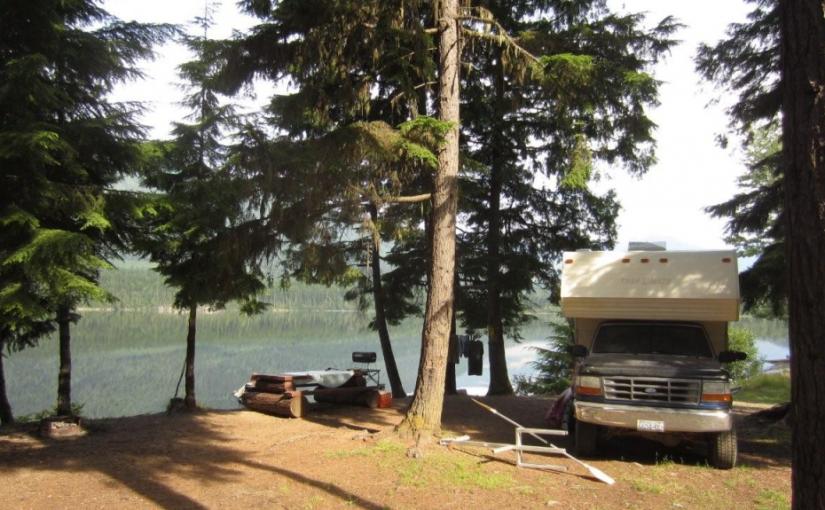 Stevens Creek Rec Site ( Whatshan lake )
