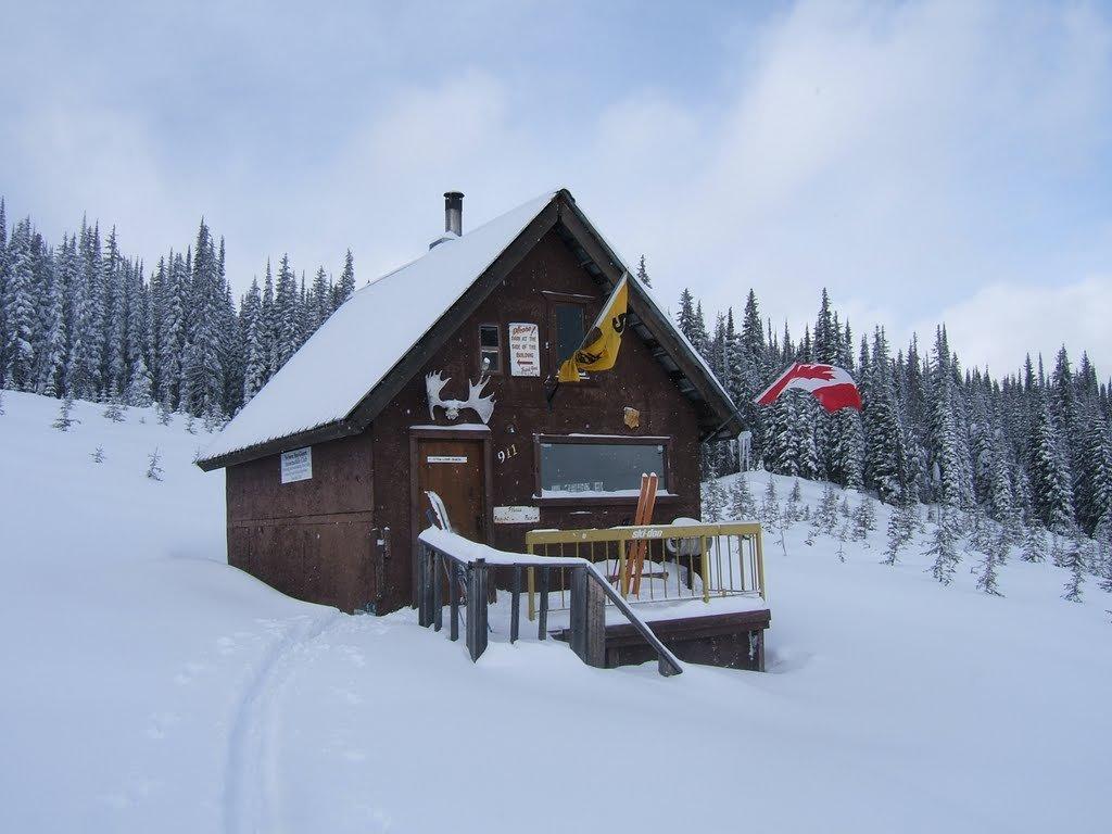 giveout creek cabin kootenay experience